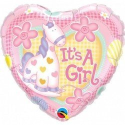 Globo It'S A Girl Soft Pony de 45 cm
