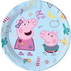Platos Peppa pig Play de 23 cm (8)