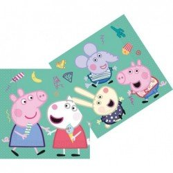 Servilletas Peppa Pig Play 33x33cm (20)