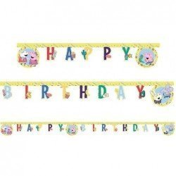 "Guirnalda Peppa Pig play ""Happy Birthday"""
