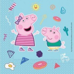 Servilletas Peppa Pig Play Eco Biodegradables (20)