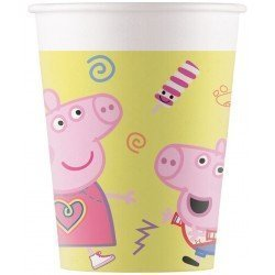 Vasos Peppa pig Play de Carton (8)