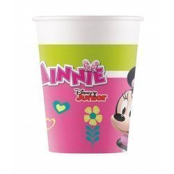 Vasos Minnie Rosa Eco biodegradables (8)