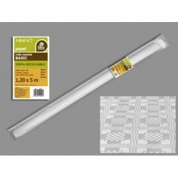Rollo Mantel Blanco de 5m