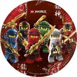 Platos Lego Ninjago de 23 cm (8) Eco-Friendly