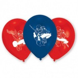 Globos latex Spiderman 2 de 27cm aprox (6)