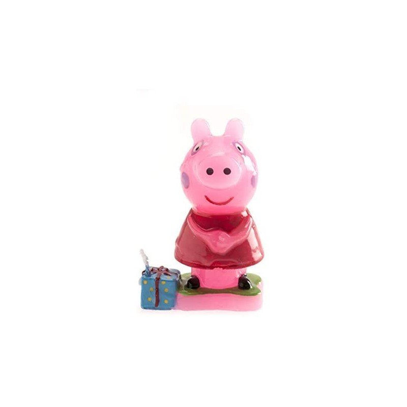 Vela Peppa Pig regalo 3D
