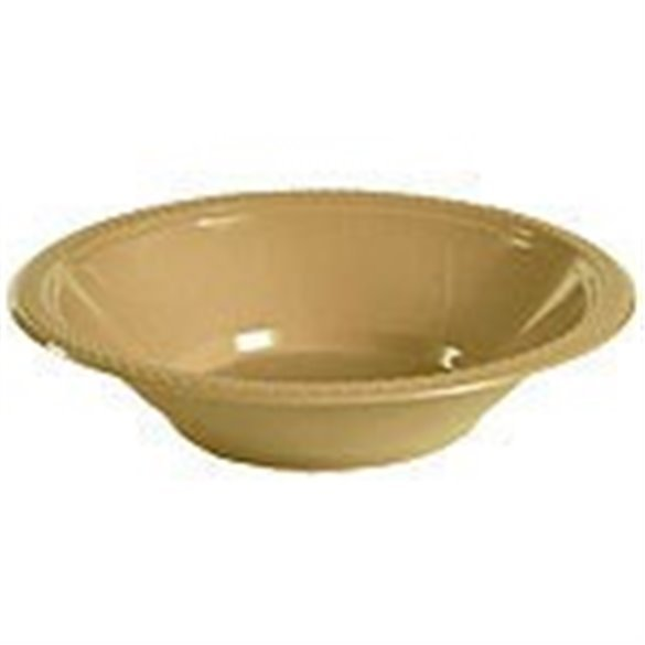 BOWL 355ml COLOR ORO (10 ud)