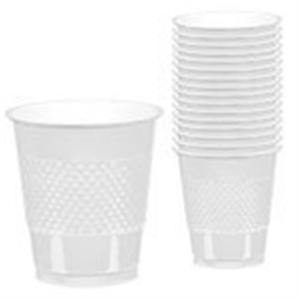 VASO 355ml COLOR BLANCO (10 ud)