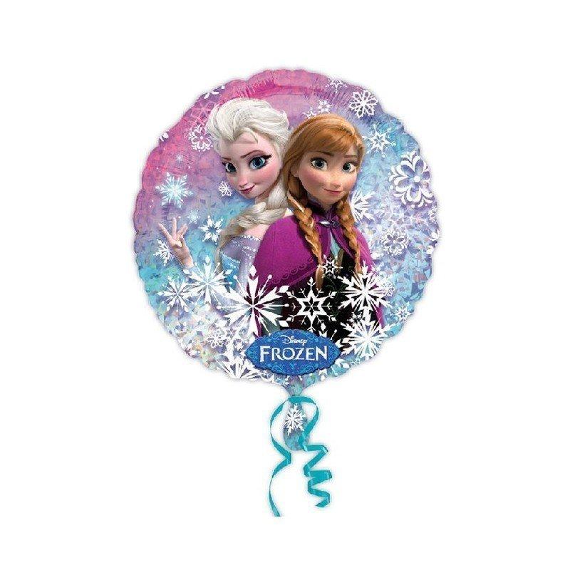Globo Foil Frozen Elsa y Anna 45cm. ( Empaquetado)