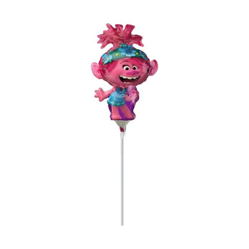 Globo Trolls Poppy Palito de 30cm