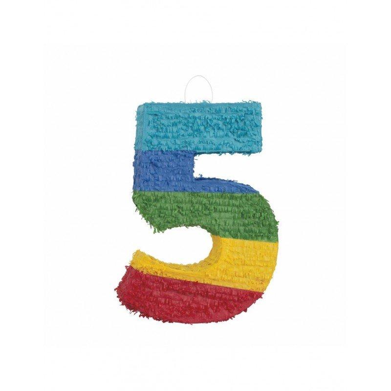 Piñata Número 5 en 3D
