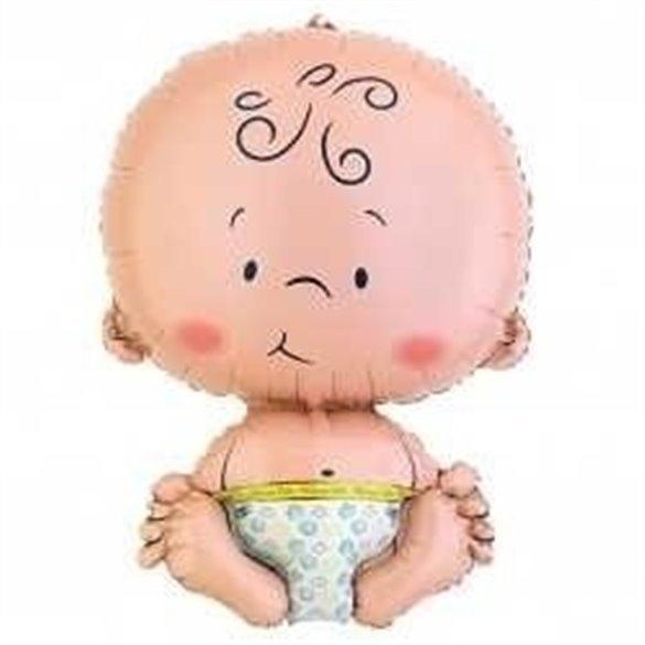 ✅Globo Forma Bebe Grande por solo 4,75€ en Masfiesta.es. Venta de Artículos de fiesta y decoración