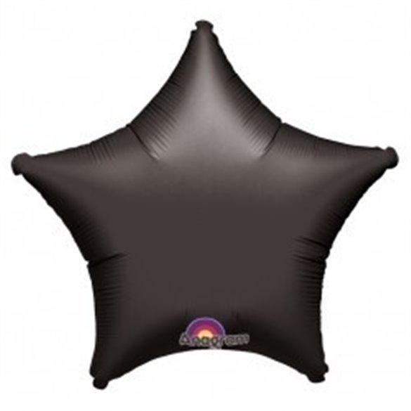 ✅Globo Con Forma de Estrella de Aprox 45cm Color NEGRO - por solo 1,19€ en Masfiesta.es. Venta de Artículos de fiesta y deco...