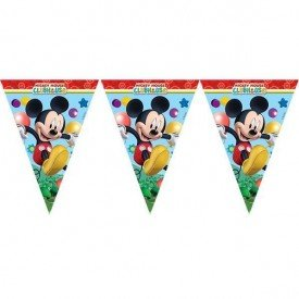 Banderines Triangulos de 3,5 m de Club disney Mickey