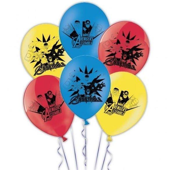 ✅Globos Los Vengadores (8und) por solo 3,59€ en Masfiesta.es. Venta de Artículos de fiesta y decoración
