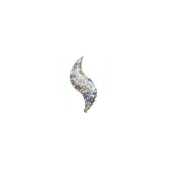 ✅Globo Forma Curva de 48cm Aprox. Color HOLOG. por solo 2,47€ en Masfiesta.es. Venta de Artículos de fiesta y decoración