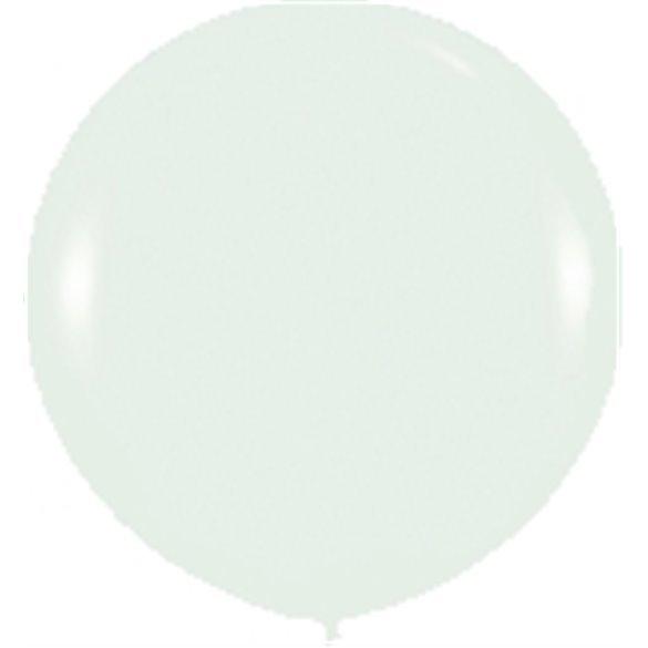 Globos (R-36)  de 90 cm aprox Color Cristal Efecto Metalico-Cristal (10 ud)