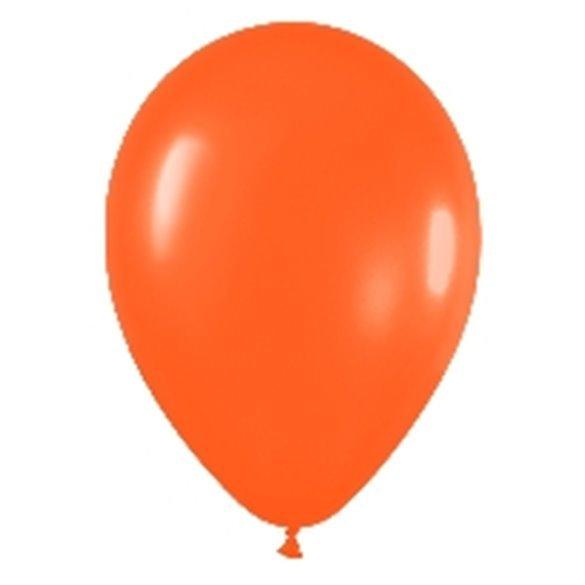 ✅Globos (R-5) de 13 cm aprox Color Naranja Solido (100 ud) por solo 4,28€ en Masfiesta.es. Venta de Artículos de fiesta y de...