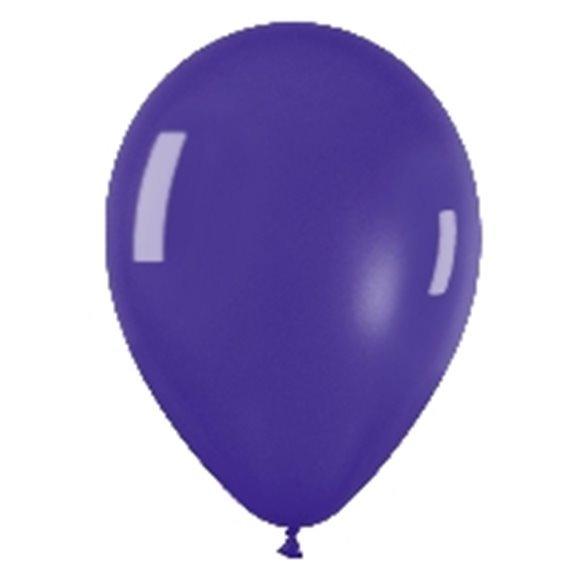 ✅Globos (R-5) de 13 cm aprox Color Violeta Efecto Metalico-Cristal (100 ud) por solo 4,51€ en Masfiesta.es. Venta de Artícul...
