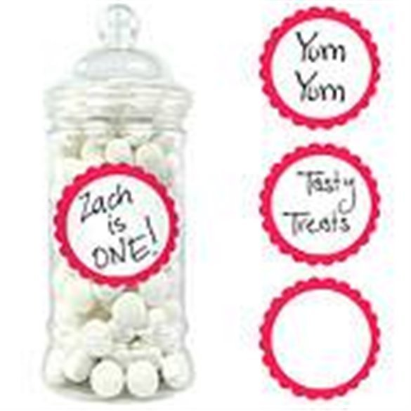 ✅Pegatinas Candy (20) Rojo por solo 1,66€ en Masfiesta.es. Venta de Artículos de fiesta y decoración