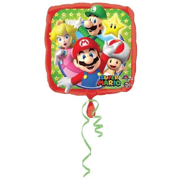 Globo Mario Bros Palito