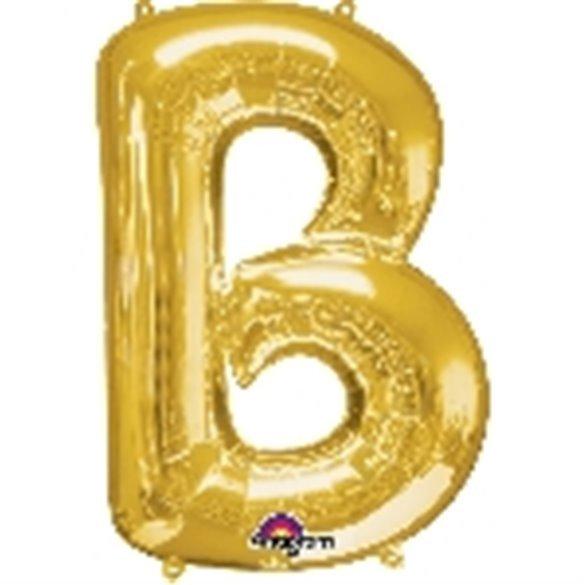 ✅Globo Letra B Gigante, de Color Oro. por solo 5,17€ en Masfiesta.es. Venta de Artículos de fiesta y decoración