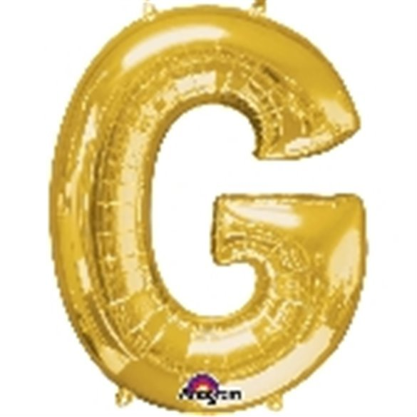 ✅Globo Letra G Gigante, de Color Oro. por solo 5,17€ en Masfiesta.es. Venta de Artículos de fiesta y decoración