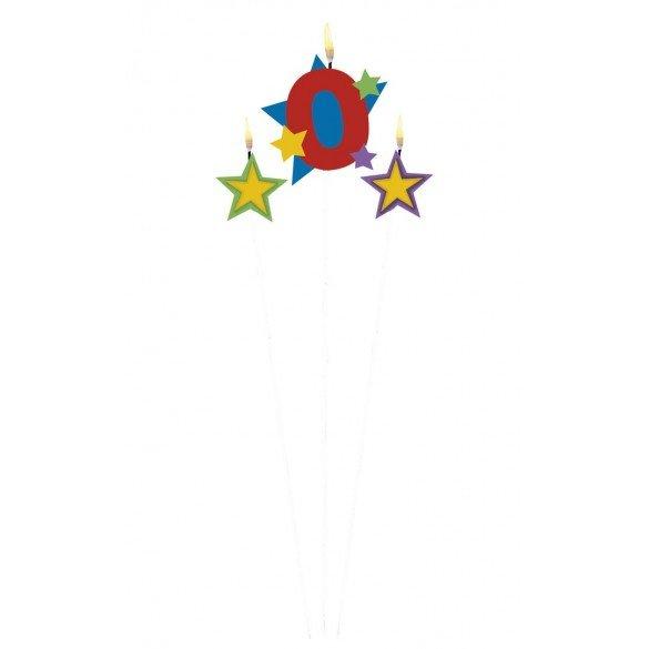 Vela con Estrellas y  Nº 0