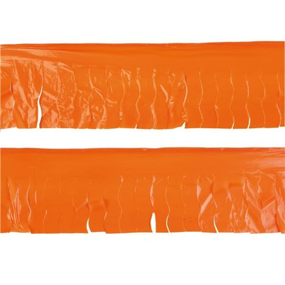 ✅Guirnalda Flecos Plástico Naranja (25 Mts) por solo 3,09€ en Masfiesta.es. Venta de Artículos de fiesta y decoración