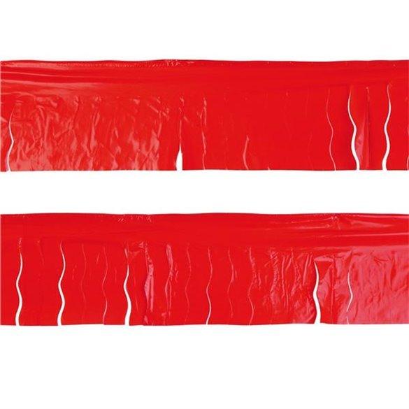 ✅Guirnalda Flecos Plástico Rojo (25 Mts) por solo 3,50€ en Masfiesta.es. Venta de Artículos de fiesta y decoración