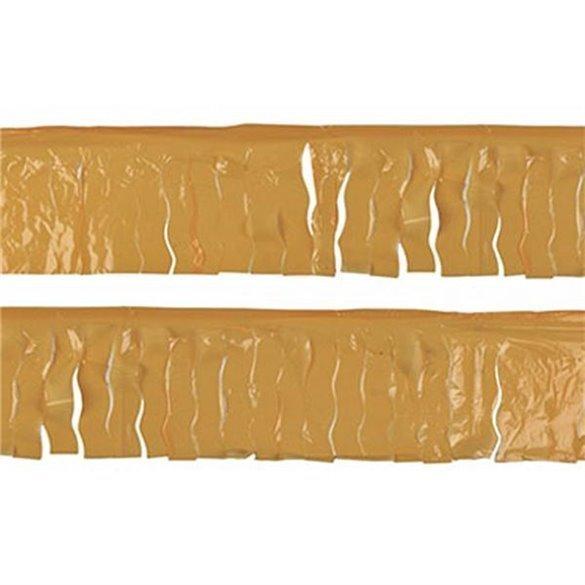 ✅Guirnalda Flecos Plástico oro (25 Mts) por solo 3,56€ en Masfiesta.es. Venta de Artículos de fiesta y decoración