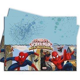 Mantel Plastico Spiderman 1,2x 1,8 Aprox