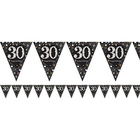 ✅Banderin triangulos 30 Prismatic Plata/oro 4 metros por solo 2,02€ en Masfiesta.es. Venta de Artículos de fiesta y decoración