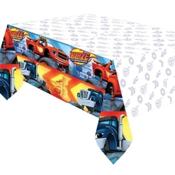 ✅Mantel (1) Blaze y los Monster Machines 1,20 x 1,80 por solo 3,75€ en Masfiesta.es. Venta de Artículos de fiesta y decoración