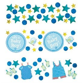 Confeti Baby shower Boy Blue