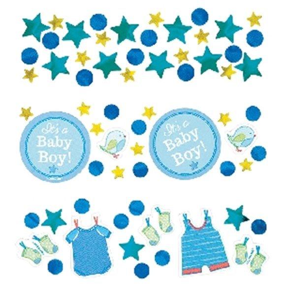 ✅Confeti Baby shower Boy Blue por solo 2,47€ en Masfiesta.es. Venta de Artículos de fiesta y decoración