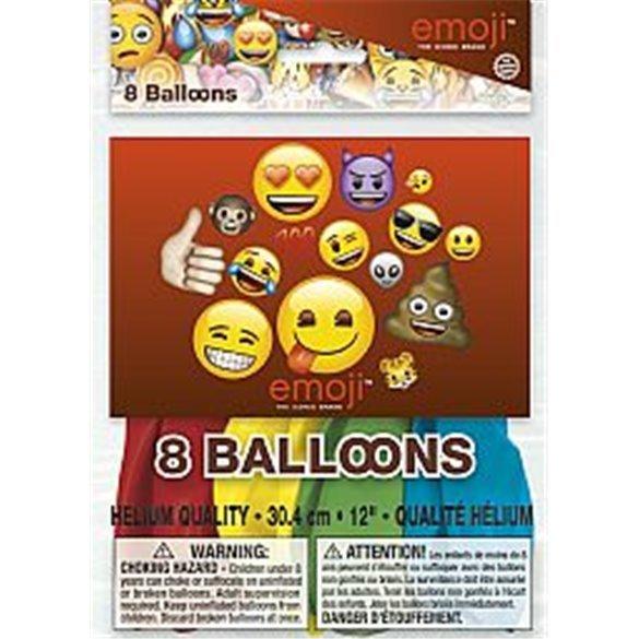 ✅Globos latex Emoji (8) por solo 3,59€ en Masfiesta.es. Venta de Artículos de fiesta y decoración