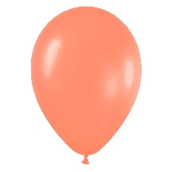 Globos Naranja Neon R12 de 30 cm aprox (50 ud)