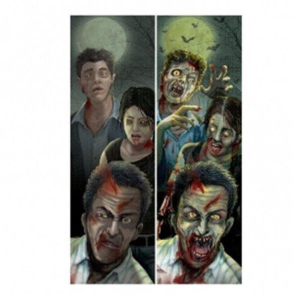 Decoración Zombies Holografica Para Pared