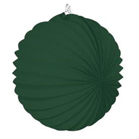 Farolillo de papel color Verde Especial, de 22 cm.