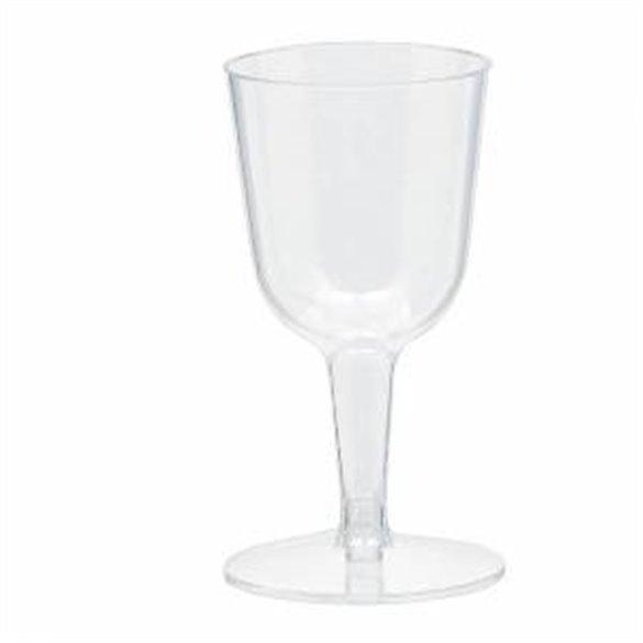 Mini copa vino de 73ml (20) transparente