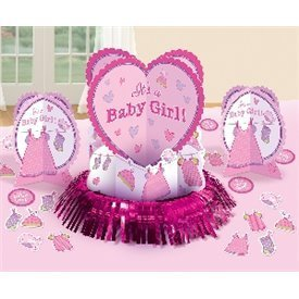 Kit decoracion mesa Baby Girl (23piezas)