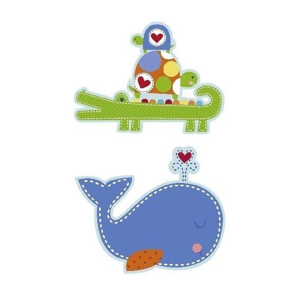 ✅Recortables Decoracion Baby Blue por solo 3,14€ en Masfiesta.es. Venta de Artículos de fiesta y decoración