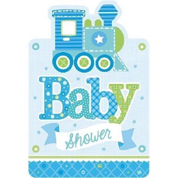 Invitaciones Baby Shower Boy 8
