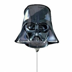 Globo Star Wars Darth Vader foil palito