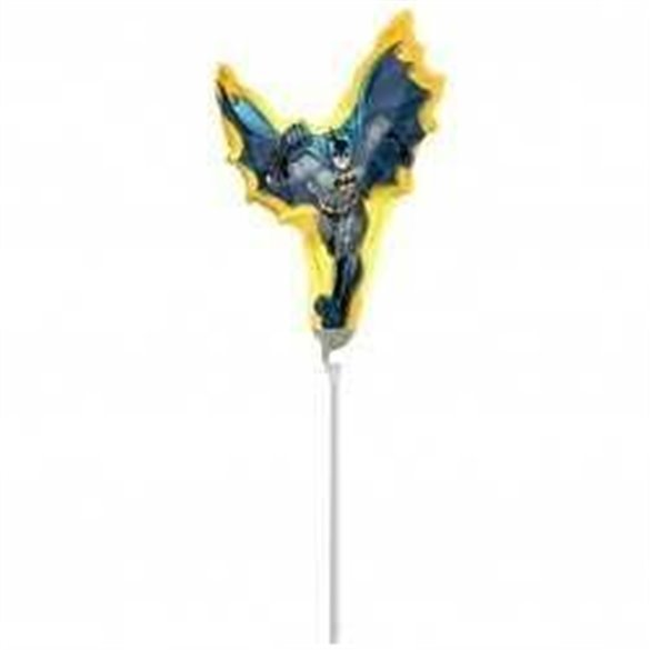 Globo Batman foil palito