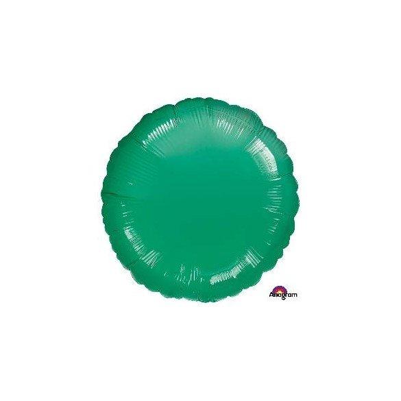 ✅Globo Con Forma de Circulo de Aprox 45cm Color VERDE METAL - por solo 1,25€ en Masfiesta.es. Venta de Artículos de fiesta y...