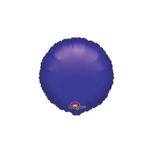 Globo Con Forma de Circulo de Aprox 45cm Color MORADO -