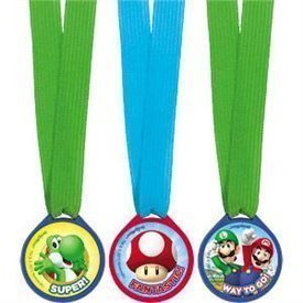 Mini medallas Super Mario Bros (12)